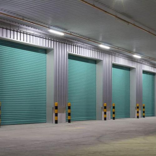 Fabricação de Portões de Aço de Enrolar