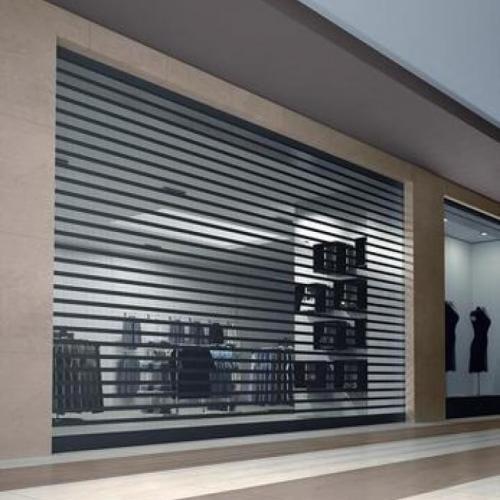 Portas de Enrolar Transvision (Microperfurada)